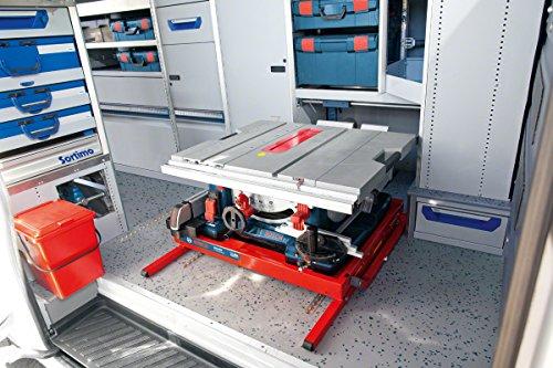 Bosch GTS 10 XC Professional Tischkreissäge, 2.100-Watt-Motor mit Motorbremse, Schnitthöhen bis 79 mm, Sägeblattdurchmesser 254 mm, Karton, 0601B30400 - 6