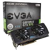 EVGA 04G-P4-2978-KR Grafikkarte (PCI-e, 4GB GDDR5 Speicher, DVI, HDMI, Display port)