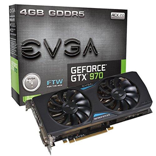 EVGA 04G-P4-2978-KR Grafikkarte (PCI-e, 4GB GDDR5 Speicher, DVI, HDMI, Display Port) -