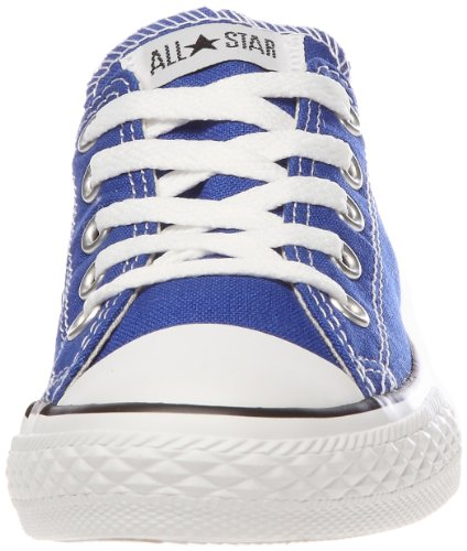 Converse Chuck Taylor All Star Junior Seasonal Ox 15762 Unisex - Kinder Sneaker Blau