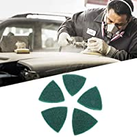 5pcs almohadillas de mano abrasivas estropajo abrasivo escocés para eliminar la superficie de varios materiales suciedad