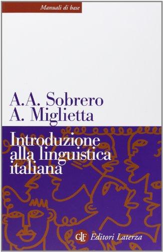 Introduzione alla linguistica italiana (Manuali di base)