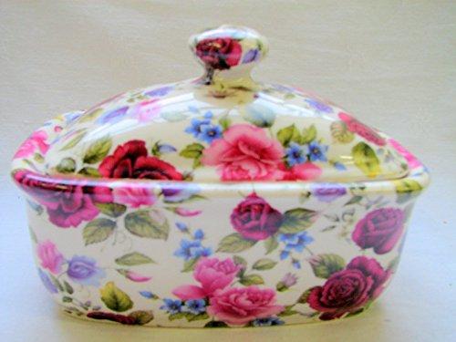 Handgefertigt Kollektion von Katie Alice in Summer Rose Design - Chintz Butter