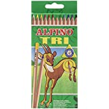 Alpino 128 - Pack de 12 lápices, multicolor