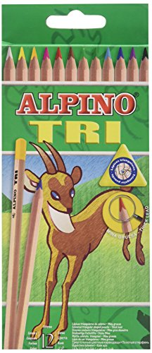 Alpino 128 – Pack de 12 lápices, multicolor