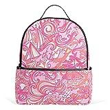 COOSUN Ispirazione Viaggiare Scuola Zaini Bookbags per ragazzi ragazze adolescenti Bambini medio Multicolore