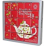"""English Tea Shop - Tee Adventskalender """"Pink Christmas"""", 24 einzelne Boxen mit würzigen BIO-Tees in hochwertigen Pyramiden-Teebeutel"""