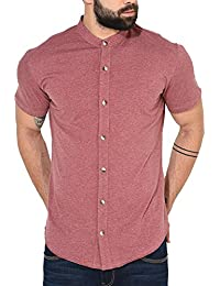 GRITSTONES Men's Cotton Half Sleeve Shirt