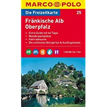 MARCO POLO Freizeitkarte Fränkische Alb, Oberpfalz 1:100.000