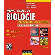 Mémo visuel de biologie - 3e éd. - L'essentiel en fiches