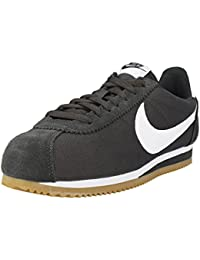 f47e0c1505a13 Zapatillas Nike – Classic Cortez Nylon Carbón Blanco Caramelo Talla  46