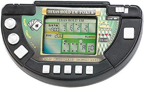 MGT Mobile Games Technology Spielekonsolen: Poker LCD-Spielkonsole Texas Hold'em (Spiel-Konsole) (Lcd-konsole)