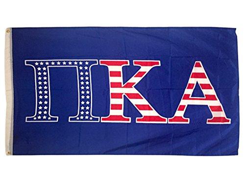Pi Kappa Alpha Pike USA Muster Buchstabe Brüderlichkeit Flagge Banner groß 3x 5Fuß Pike -
