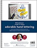Strathmore Learn to Draw Series, Adorable Hand Lettering - 12 Lessons, Smooth Bristol Paper Pad, 9 X 12 inches, 12 Sheets (25-653)