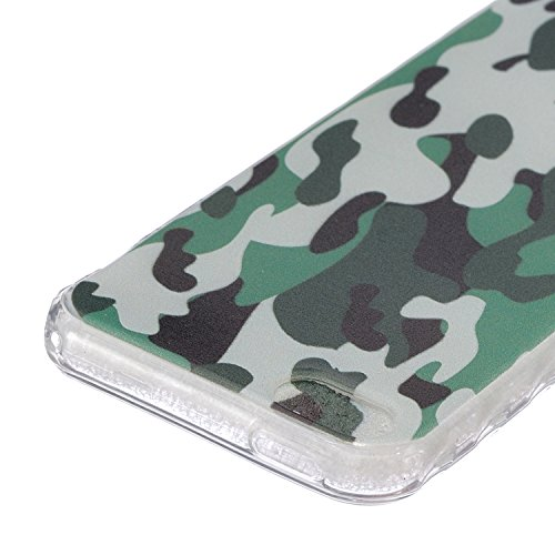iPhone 6S Plus Hülle Silicone,iPhone 6S Plus Hülle Glitzer,iPhone 6S Plus / 6 Plus Hülle TPU Case Schutzhülle Silikon Crystal Clear Case,EMAXELERS iPhone 6S Plus Hülle Bunte Blumen Schmetterling Muste Camouflage TPU 1