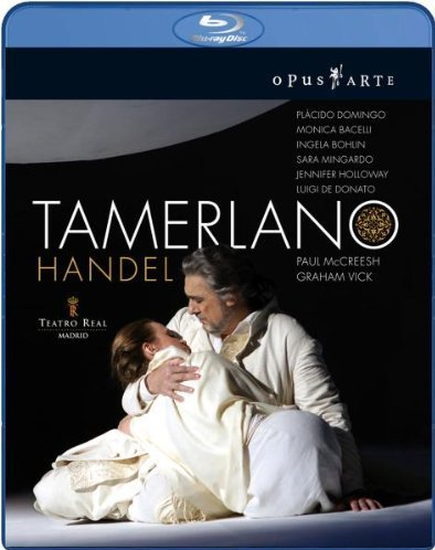 Tamerlano, de Georg Friedrich Haendel (Teatro Real, Madrid 2008) [Blu-ray] [Import italien]