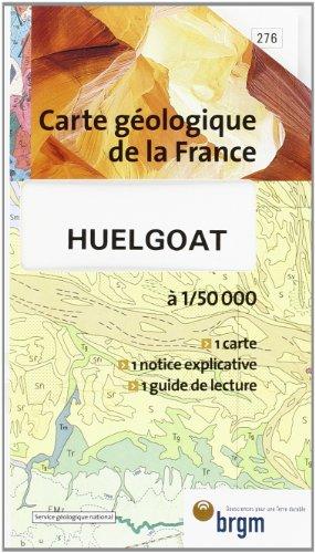 Carte géologique : Huelgoat