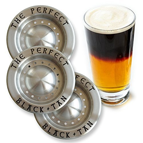 Le Parfait Outil de superposition à bière Noir et brun clair-Lot de 3 -