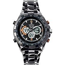 Globenfeld Super Sport - Orologio da polso con cronometro e tachimetro - resistente all'acqua - (Orologio Subacqueo)