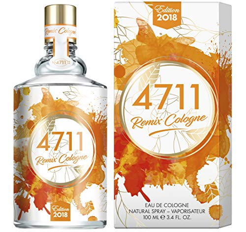 4711 Remix Edition Orange. Eau de Cologne. Spray 100 ml. -