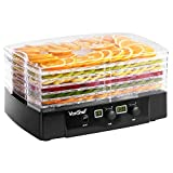 VonShef 6 Tier Food Dehydrator – Dryer for Fruit, Vegetables and Meat