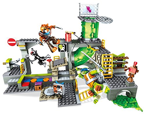 Mattel Mega Bloks DMX55 - Teenage Mutant Ninja Turtles Geheimversteck (Ninja Turtles Mutanten)