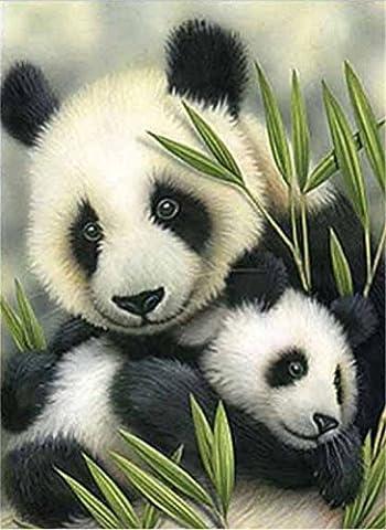 yeesam Art neuen 5D Diamant Painting Kit–Panda Mutter und Baby
