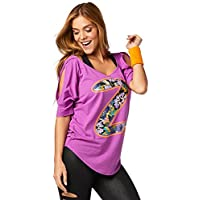 Zumba Fitness–Women's Zumba Party Cold Shoulder Top Woman Tops, Womens, Zumba Party Cold Shoulder Top