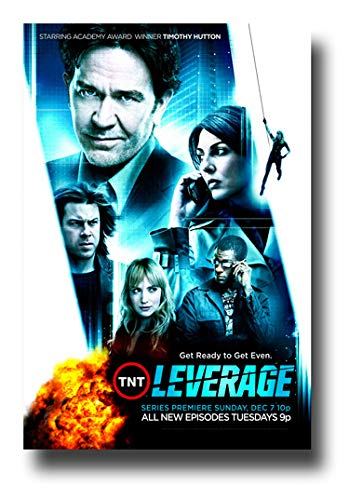 Promo Poster mit TV-Show Leverage Collage TV Get Ready to Get Even