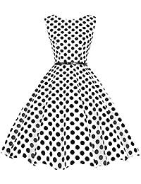 Bbonlinedress modèle 2 Vintage rétro 1950's Audrey Hepburn robe de soirée cocktail année 50 Rockabilly