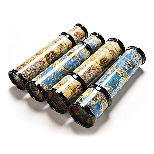 Mechanische Werkzeuge Kaleidoskope, 21cm rotierenden Kaleidoscopes bunte Welt Vorschule Spielzeug Stil zufällige beste Kinder Geschenke