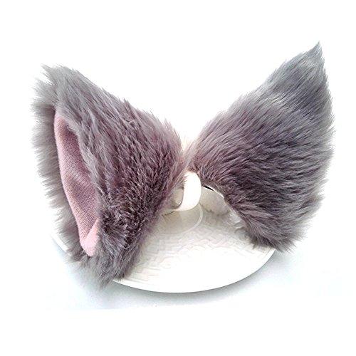 ONECHANCE Katze Fox Pelz Ohren Haarspange Headwear Anime Cosplay Halloween Kostüm ()