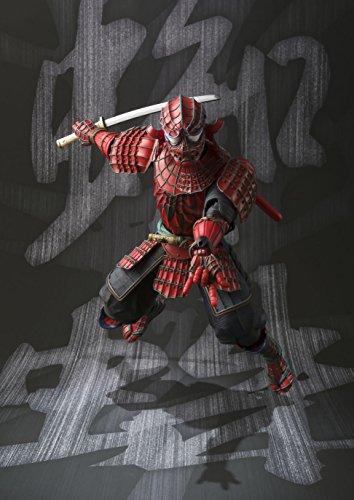 BANDAI MEISHO Manga Realization Samurai Spider Man Action Figure 9