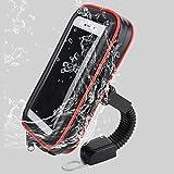 Professioneller Wasserdichter Moto-Stützfall, SUNSEATON 360 Grad-Rotations-Universalmotorrad-Halter mit Kopfhöreranschluss - XL