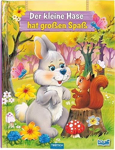"""Pop-Up-Buch """"Der kleine Hase hat großen Spaß"""": mit vielen Pop-Up-Elementen (Ostern / Kinderbücher)"""