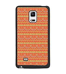 PrintDhaba Pattern D-5214 Back Case Cover for SAMSUNG GALAXY NOTE 4 (Multi-Coloured)