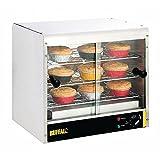 Buffalo Pie Cabinet 30 Pies Stainless Steel Kitchen Heated Warmer 500X595X390mm