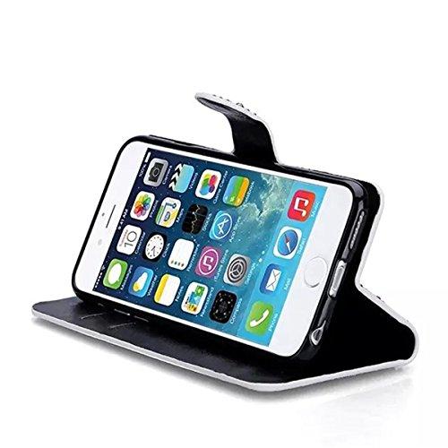 iPhone 6S Plus Hülle, iPhone 6 Plus Hülle, Lifeturt [ Gold ] PU leder Hülle Ledertasche Schutzhülle Case Tasche Standfunktion Brieftasche und Karte Halter für iPhone 6S Plus/6 Plus E02-Hell