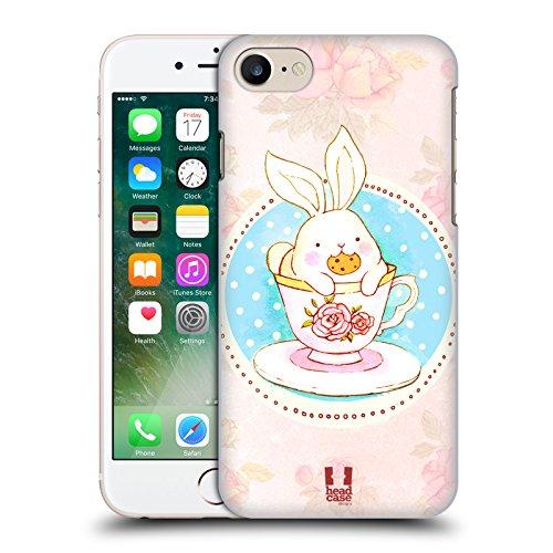 Head Case Designs Renard Noir Tangram Motifs Animaliers Étui Coque en Gel molle pour Apple iPhone 6 Plus / 6s Plus Thé Et Biscuit