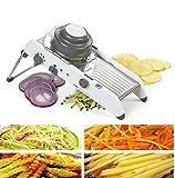 Professionelle Mandolinenschneider Edelstahl Royala Manuelle Einstellbare Gemüseschneider Obst Lebensmittel Werkzeuge Küche Zubehör 18 Arten Von Funktion
