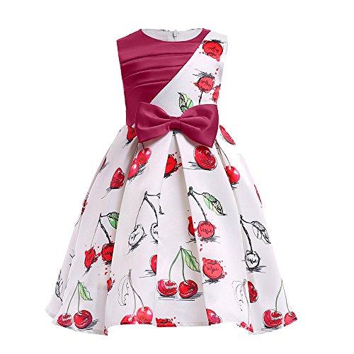 Blumen Baby Mädchen Prinzessin Kleid, Quaan Brautjungfer Festzug Kleid Geburtstag Beiläufig Retro Vorabend Party Hochzeit Bowknot Stickerei Jahrgang Bodycon Abschlussball Swing Abendessen Kleid