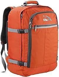 Cabin Max Sac à dos bagage à mains pour cabine 55 x 40 x 20 cm 44 - Couleur Orange