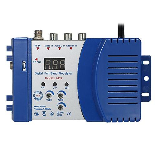 KKmoon Modulador compacto RF Audio Video Convertidor