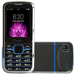 GreenBerry GB1000-Black & Blue Dual Sim GSM with Multimedia Camera Mobile Phone