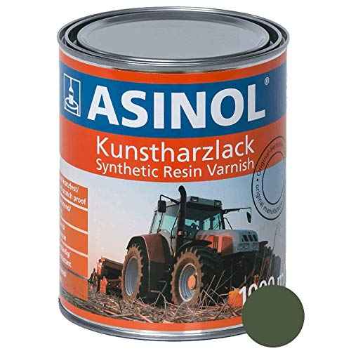 Kunstharzlack RAL 6003 Olivgrün - Matt 1.000 ml ASINOL