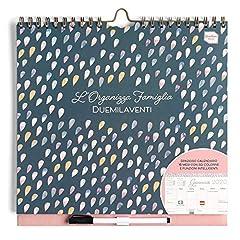 Idea Regalo - Boxclever Press L'Organizza Famiglia calendario 2020 da muro. Calendario della famiglia 2020 accademico, planner settimanale con 6 colonne. Inizia Ora e dura fino Dicembre 2020. Misura 30.5 x 30.5cm