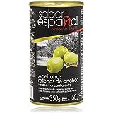 Sabor Español - Aceitunas rellanas de anchoa - Verdes manzanilla extra - 350 g