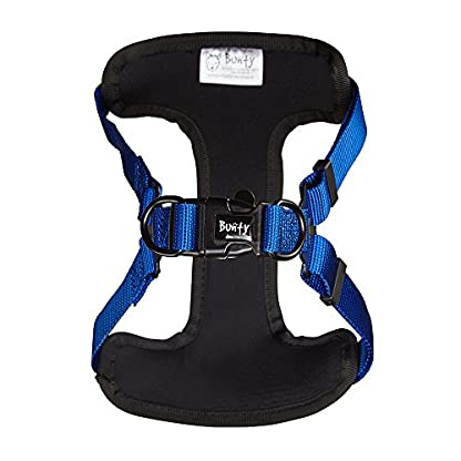 Bunty Soft Comfortable Breathable Fabric Dog Puppy Pet Adjustable Harness Vest - Black - Small 2