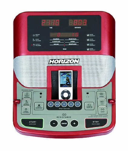 Horizon Fitness Elliptical Ergometer -Diamante Rojo E5- - 4