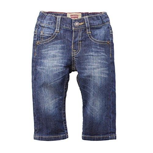 Levi'S Kids Baby-Jungen Jeans Levi'S®, Einfarbig, Gr. 92 (Herstellergröße: 24M), Blau (Indigo 46)